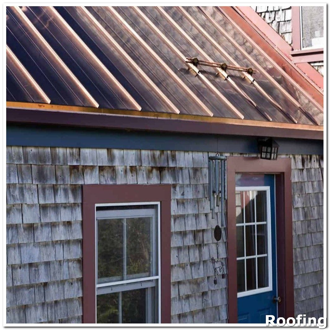 Roofing Ideas Get On The Roof To Check It Following A Strong Wind If You Cannot See Anything From A Ladder Or Standing Seam Standing Seam Roof Metal Roof