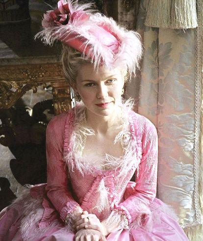 Kirsten Dunst, Marie Antoinette.