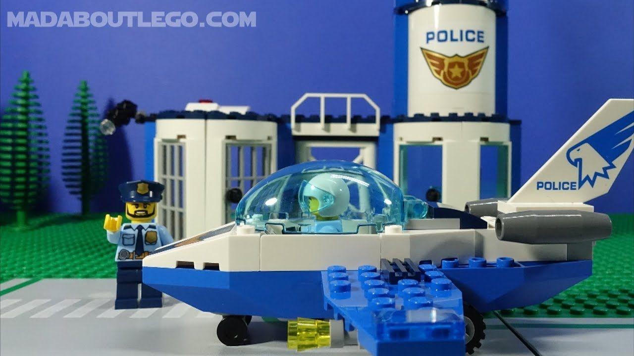 Lego Sky Police Jet Patrol 60206 Lego Police Police Lego City