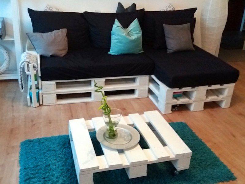 Ihr neues Wochenendprojekt: Palettensofa selber bauen!