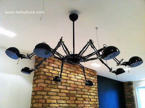 Schwarzer Kronleuchter Ikea ~ Ikea hack spider lamp lampen wohnen