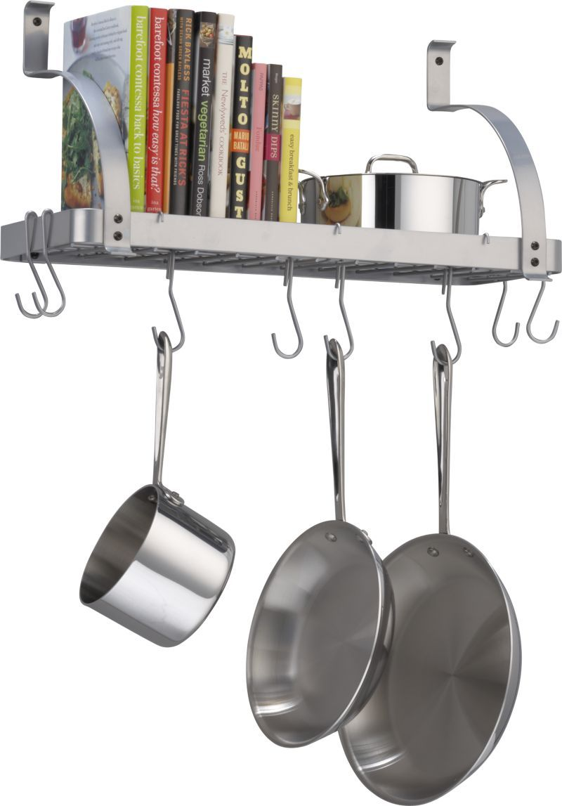 it design deep cuisine up full decoration enclume rack and with hanging grande bright pots cozy bookshelf wall size island ideas pot of pans for on shelf instructions