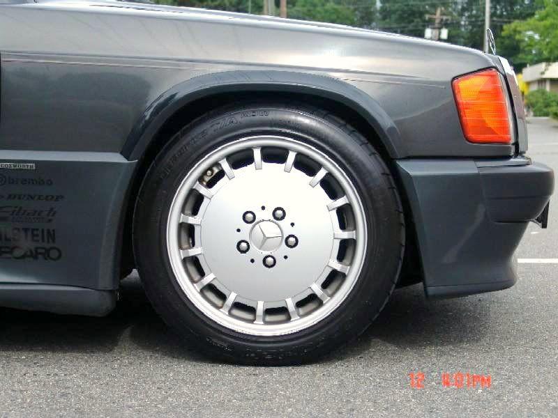 Mercedes benz 190e 2 3 16 valve cosworth alloy wheels for Mercedes benz 190e rims
