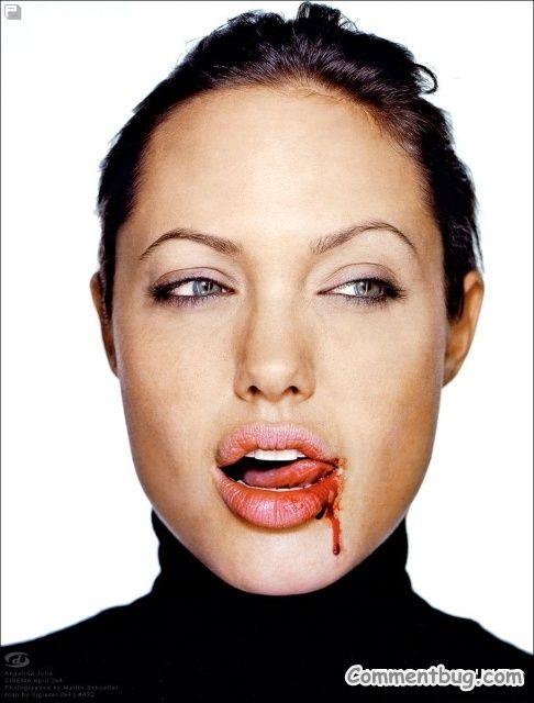 Angelina jolie ass lick, xxxteenspussy feer