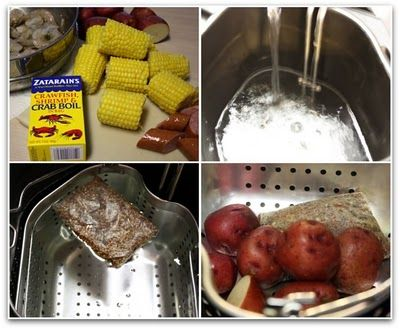 Low Country Boil Using The Butterball Indoor Turkey Fryer Turkey Fryer Recipes Seafood Boil Recipes Turkey Fryer