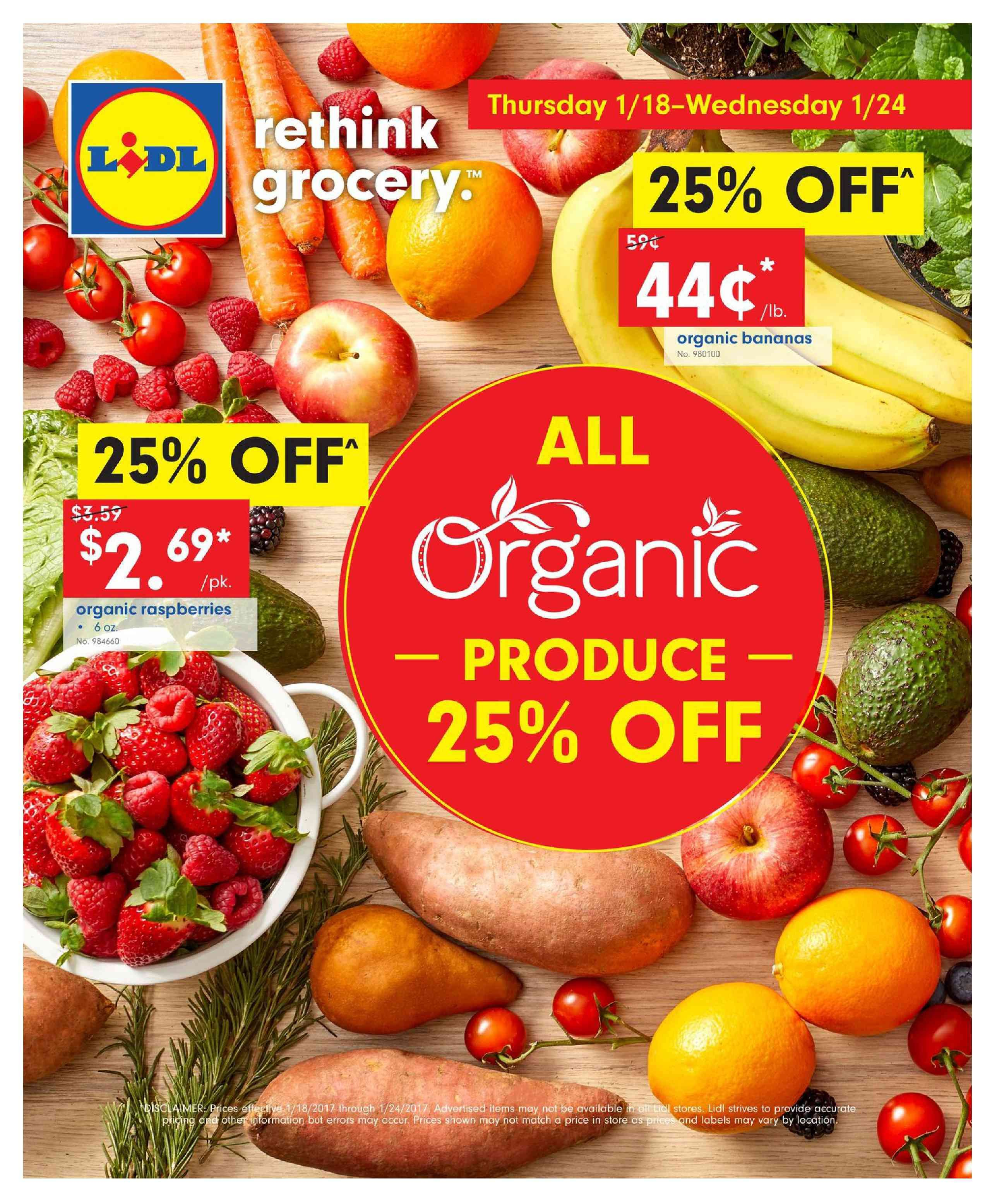 5e589135e Browse current Lidl Weekly ad January 18 – 24, 2018 or Weekly specials, Lidl
