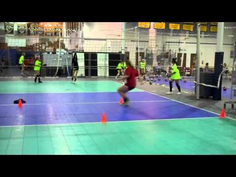 Setter S Footwork Youtube Coaching Volleyball Volleyball Skills Volleyball Workouts