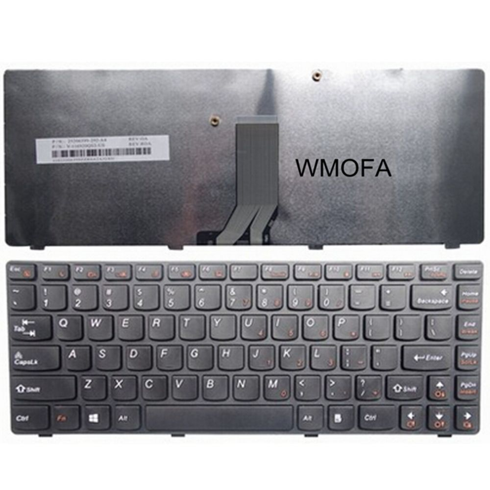 Us Black New English Replace Laptop Keyboard For Lenovo Z470 Am Z470at Z470ax Z470k Z470g Z475 Z370 Z370 Z470am Z470g Z47 Laptop Accessories Laptop Accessories