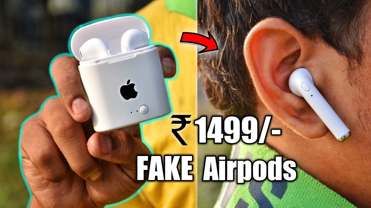 The 1500rs Fake Apple Airpods How Bad Is It This 25 Fake Apple Airpods Is The Complete Clone Of The Genuine Apple Airpods Which C Memes Funny Memes Apple