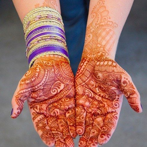 Bridal Henna for these Two Brides that Combined Indian And Irish Traditions For The Perfect Wedding