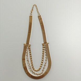 【外贸项链】 实物实拍 支持上门参观拿货 欧美镀金项链 厂家直销