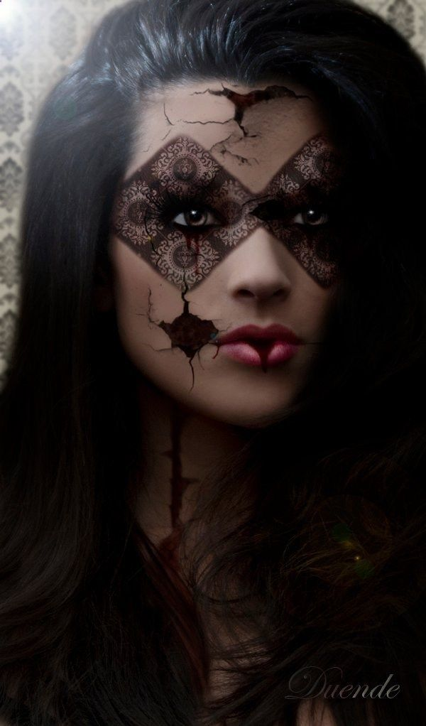 Maquillage Artistique Halloween.By Duende Maquillage Halloween Maquillage Artistique Maquillage Effets Speciaux