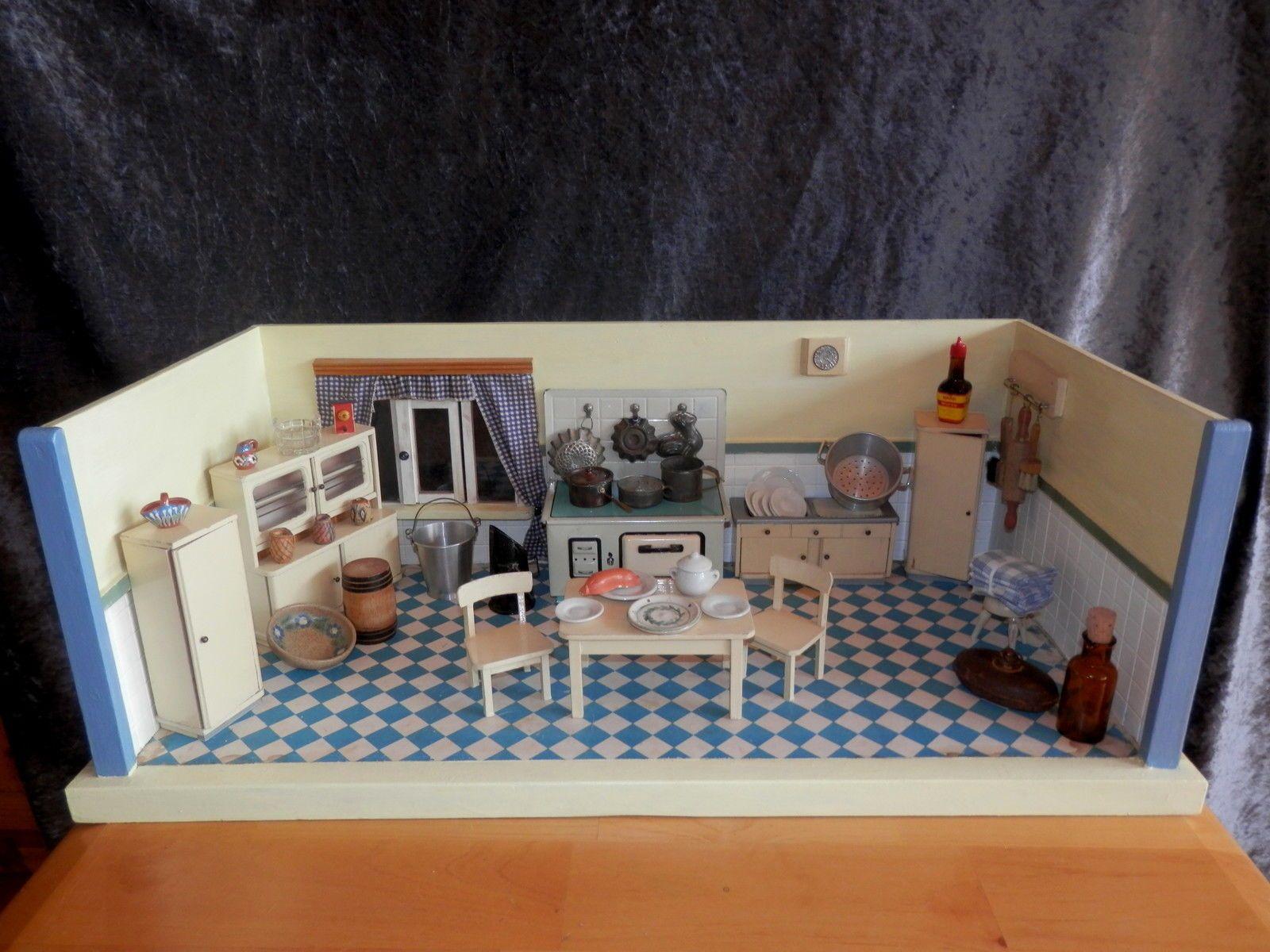 Antike Original Herde für Puppenküchen (bis 1970) günstig