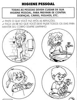 50 Atividades Sobre Higiene E Habitos Saudaveis Para Imprimir Com