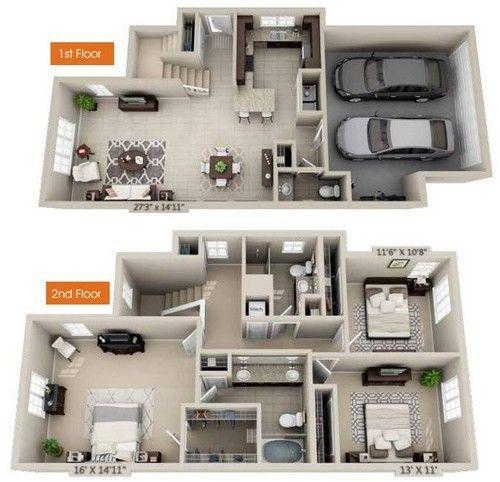 Amiata #apartmentfloorplans