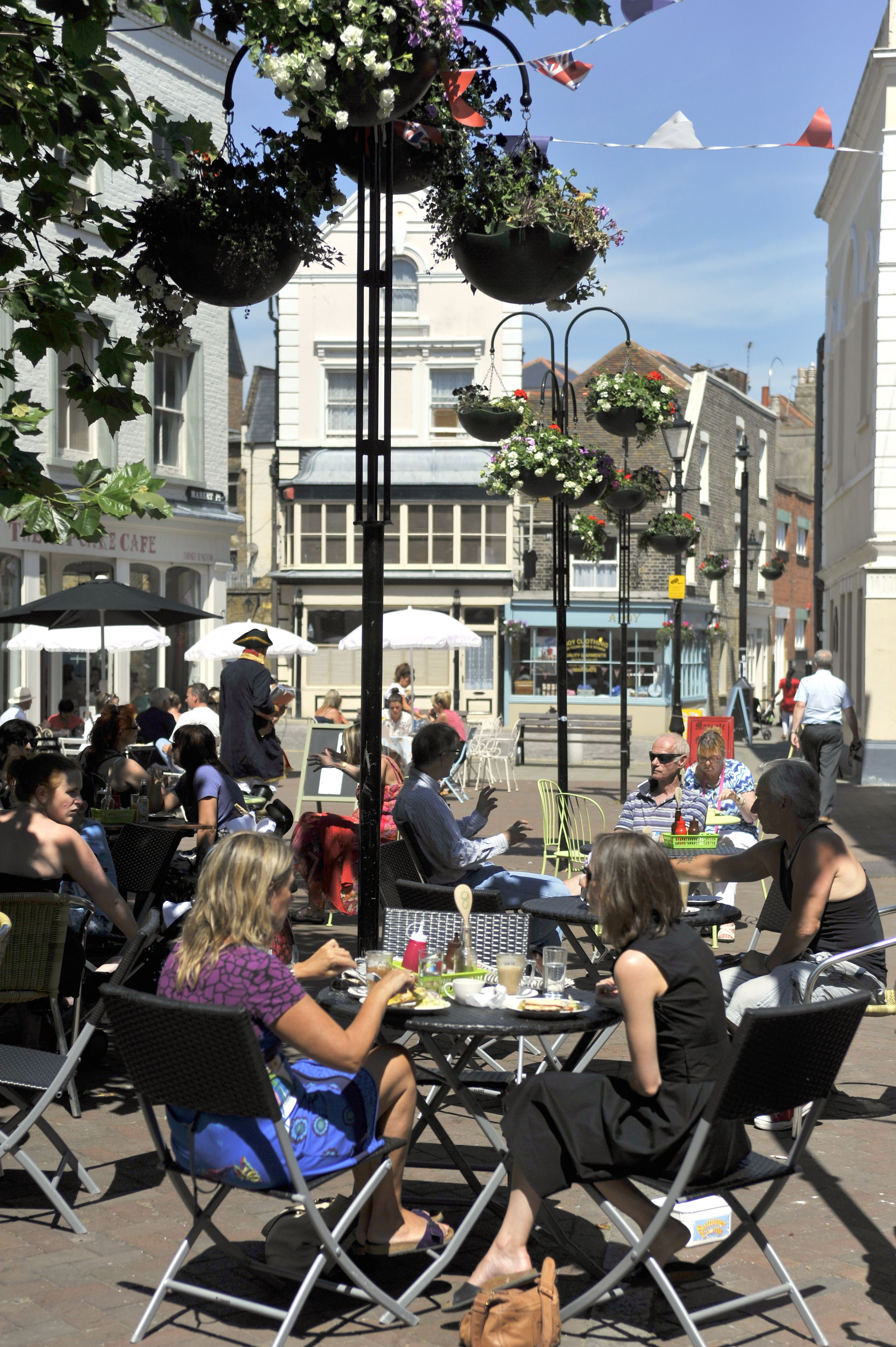 margate old town is now known for its mix of cafes bars craft