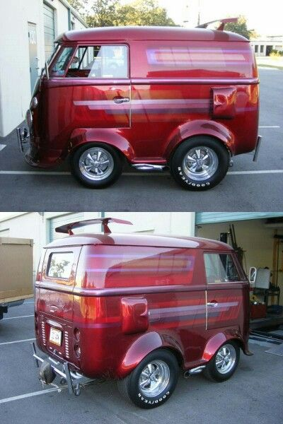 Vw shorty bus | Interesting maybe even odd | Smart car body kits