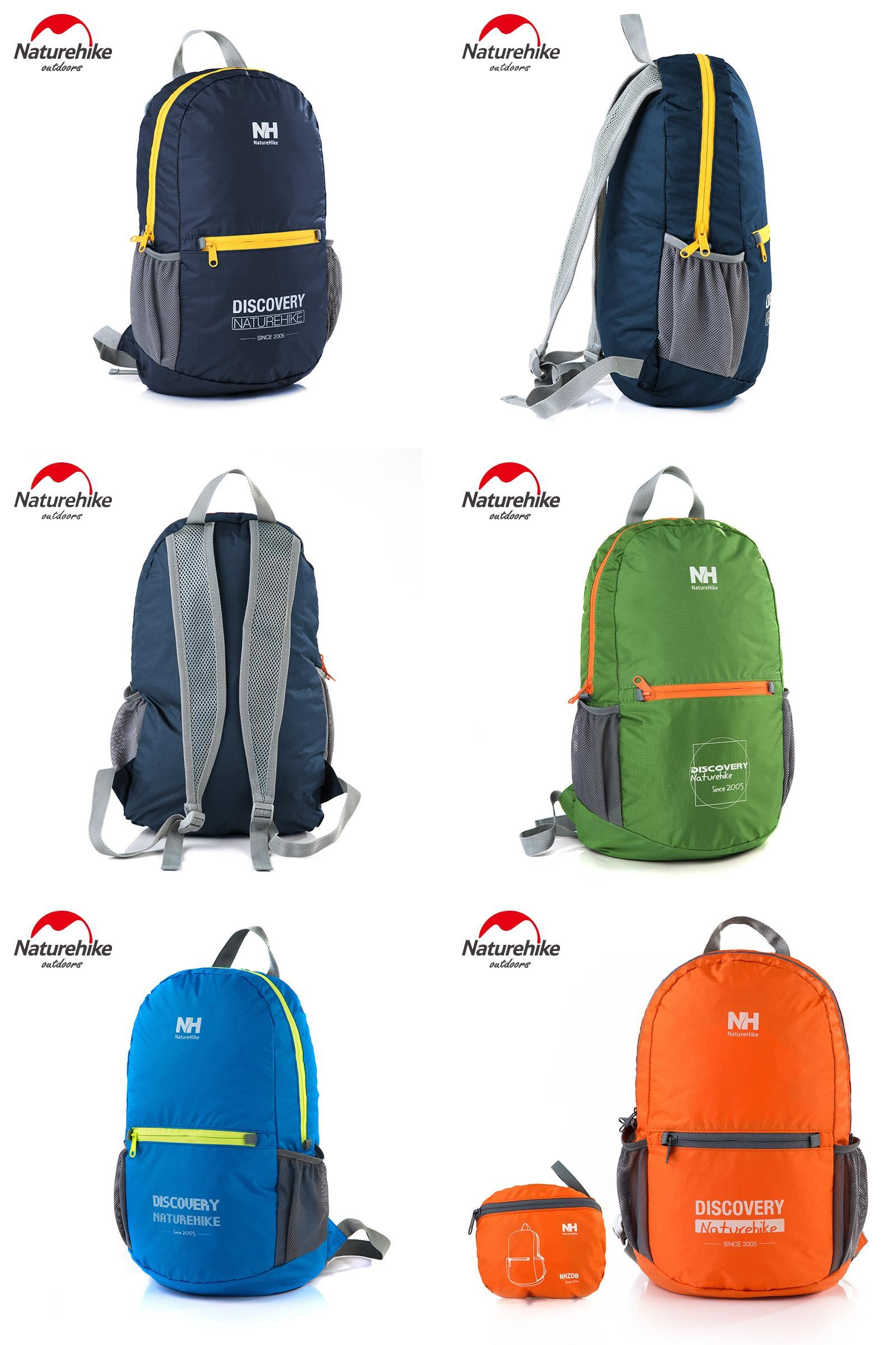 Visit to Buy  NatureHike 15L Waterproof Backpack Ultralight Rucksack  Cycling Bike Camping Climbing Hiking 579af9a9031a9