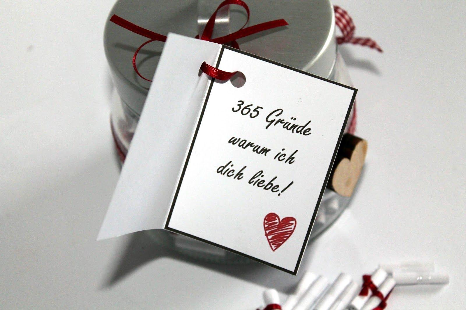 die perfekte geschenkidee diy 365 gr nde warum ich dich liebe selber machen m nnergeschenke. Black Bedroom Furniture Sets. Home Design Ideas