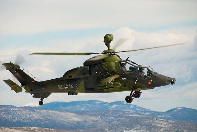 Kampfhubschrauber Tiger in Südfrankreich by Bundeswehr-Fotos Wir.Dienen.Deutschland., via Flickr