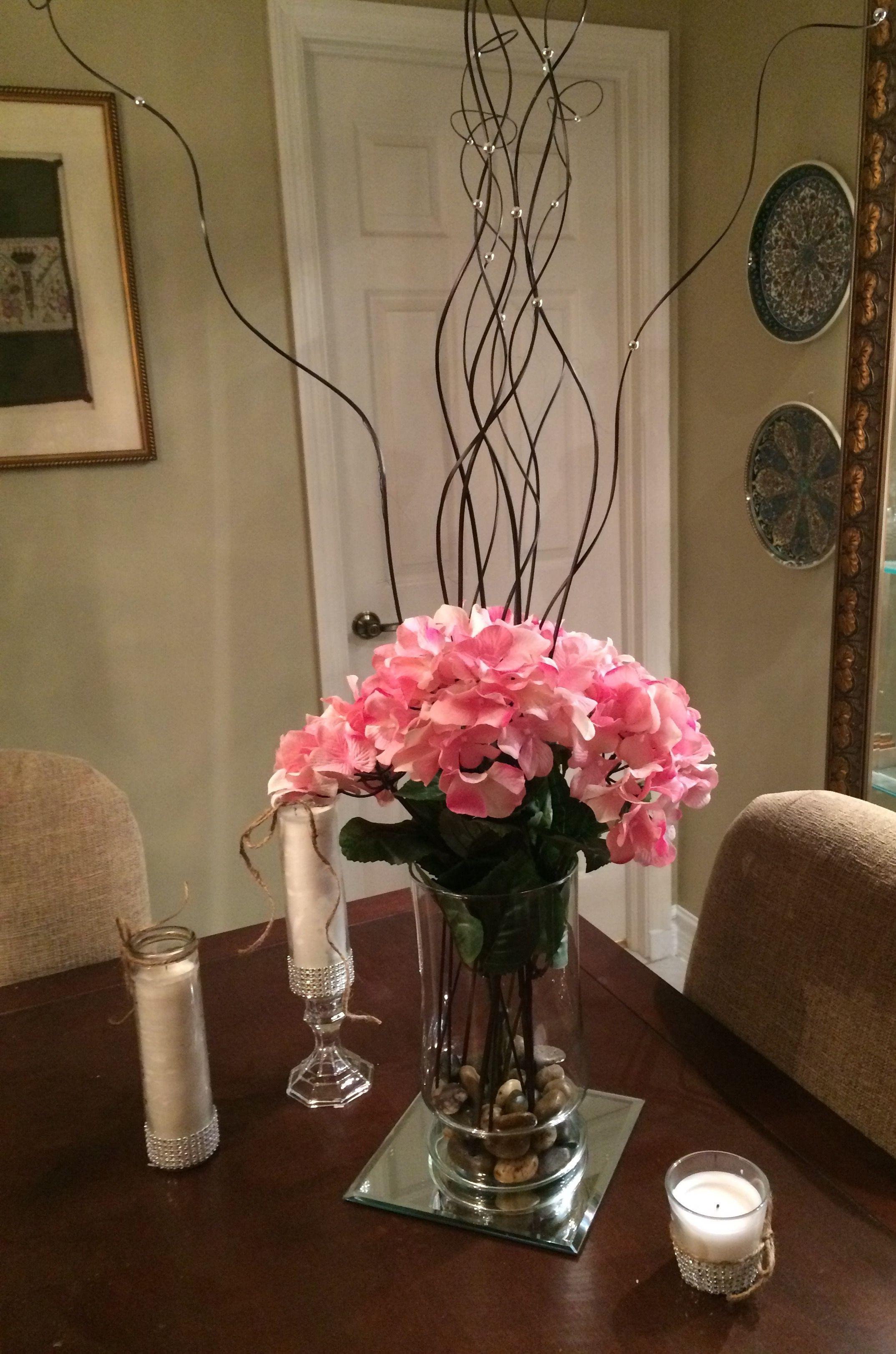 Pin By Rose Mentrie On Natt S Wedding Glass Vase Decor Home Decor
