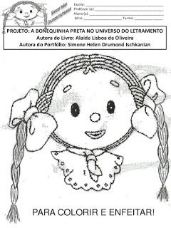 Ensinando Com Carinho Sequencia Didatica Menina Bonita Do Laco De