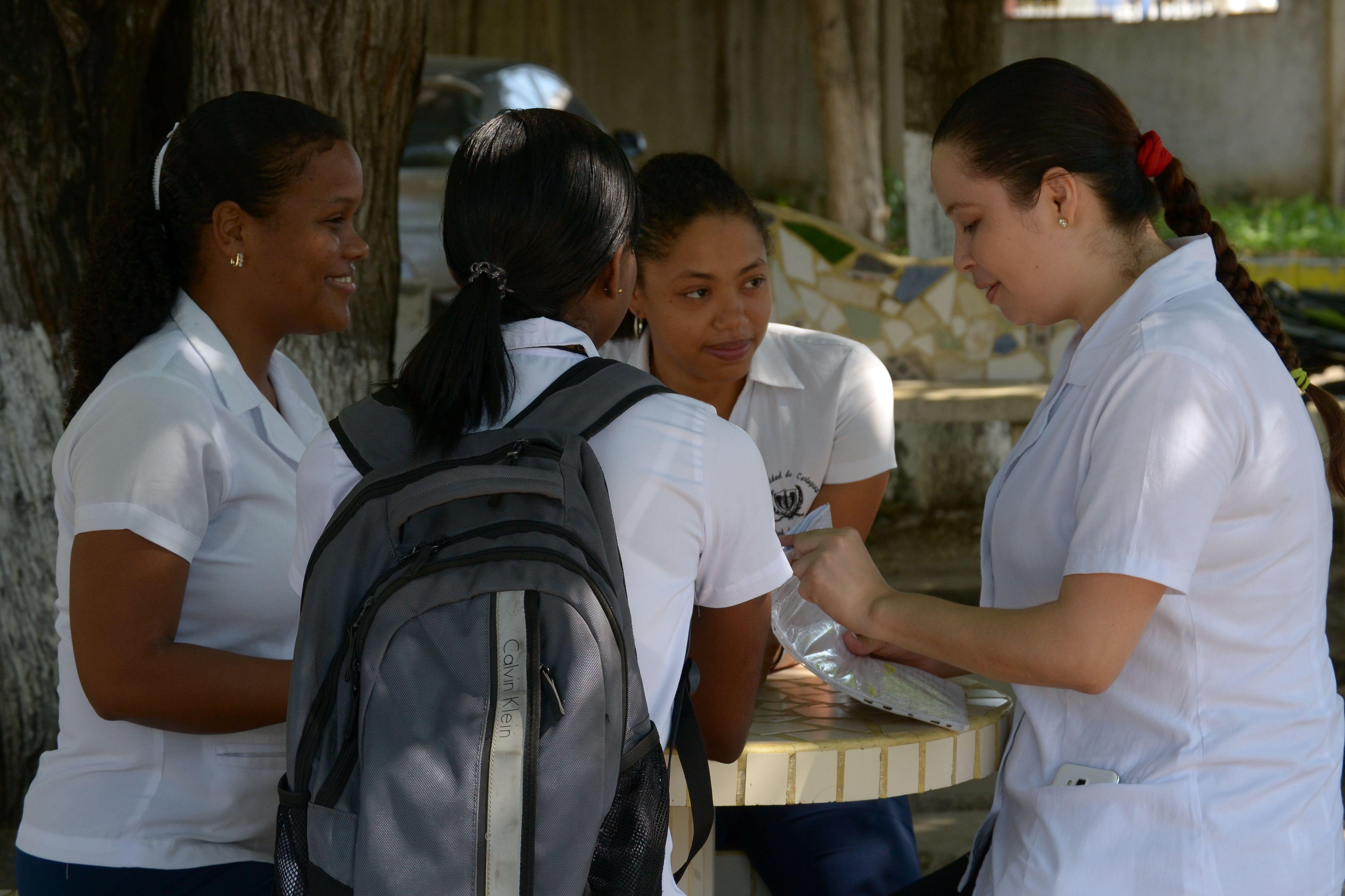 Estudiantes Facultad de Enfermería