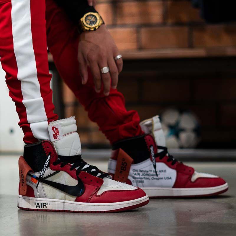 premium selection 37870 ad593 Air Jordan 1 X Off-white HypeFashion Instagram   hypefashionnet, mens  sneakers, mens sneakers fashion, sneakers fashion outfits, street style, ...