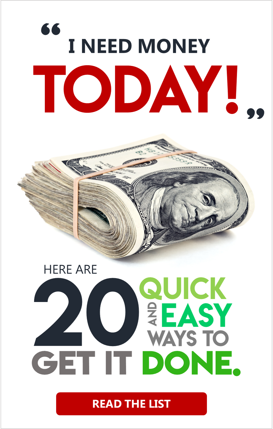 Need Money Now 12 Ways To Get Cash When You Need It Urgently Need Money Now Need Money Money Today