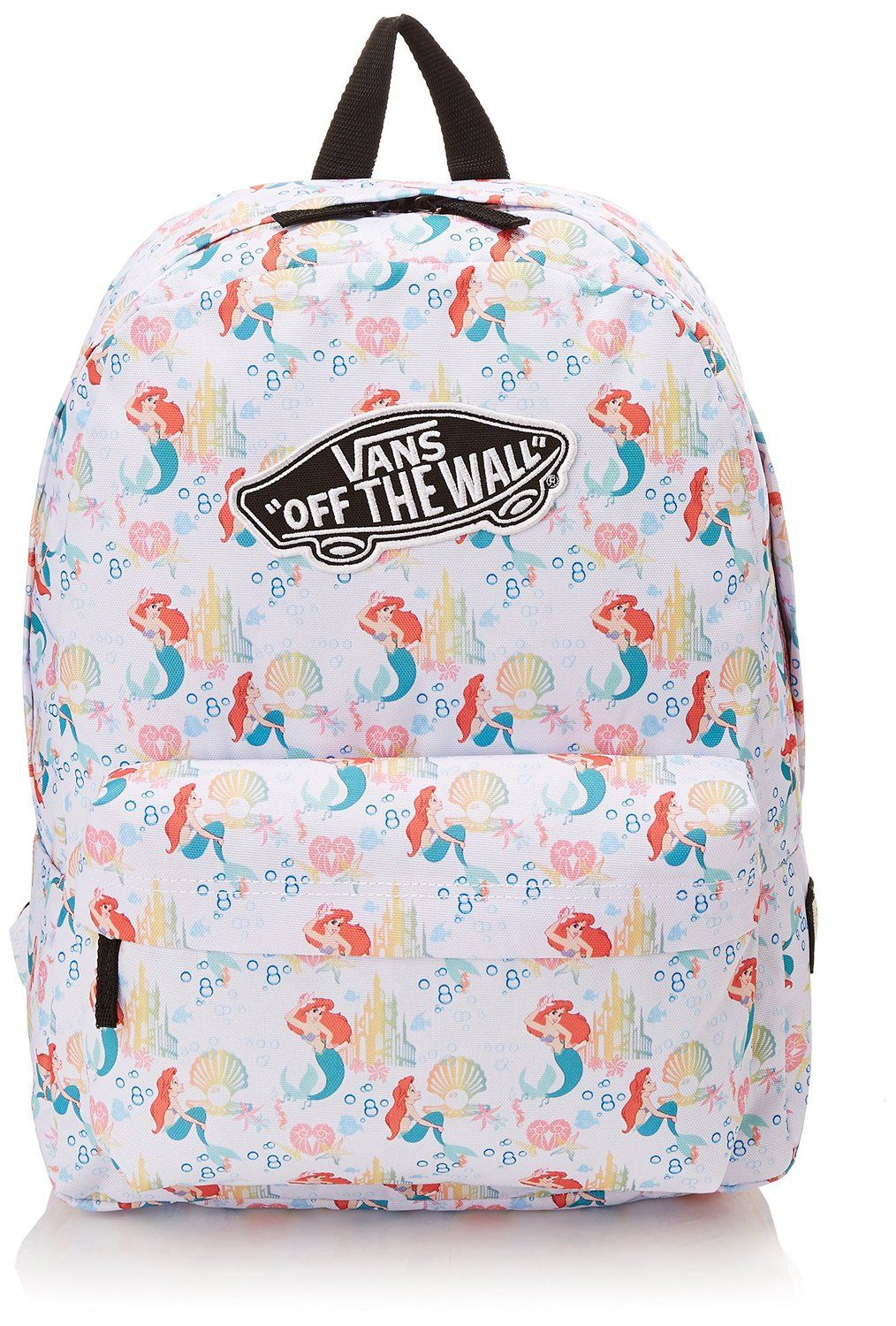 AmazonSmile  Vans Disney White Little Mermaid Backpack  Sports   Outdoors 60a04828c38
