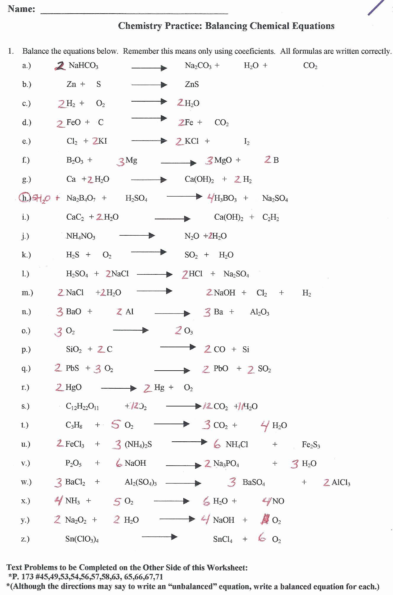 Nuclear Chemistry Worksheet Answer Key Inspirational