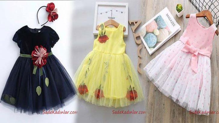 Sevimli Ve Sirin Kiz Cocuk Elbise Modelleri Elbise Modelleri Cicekli Kiz Elbiseleri Elbise