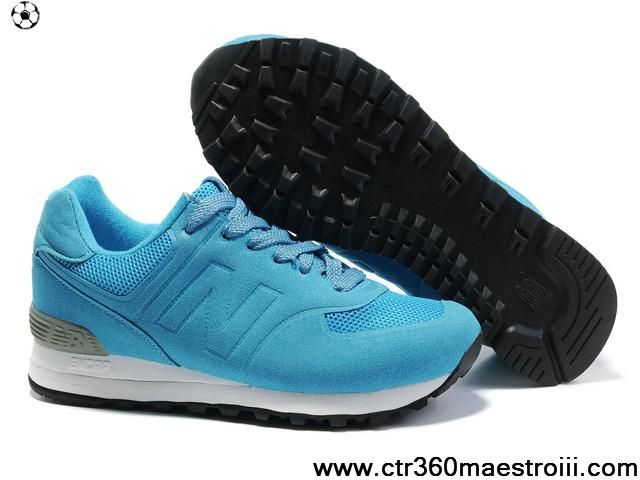 first rate acf48 0ca29 Wholesale Cheap New Balance NB MS574 Sonic BK series sky Blue White For Men  shoes