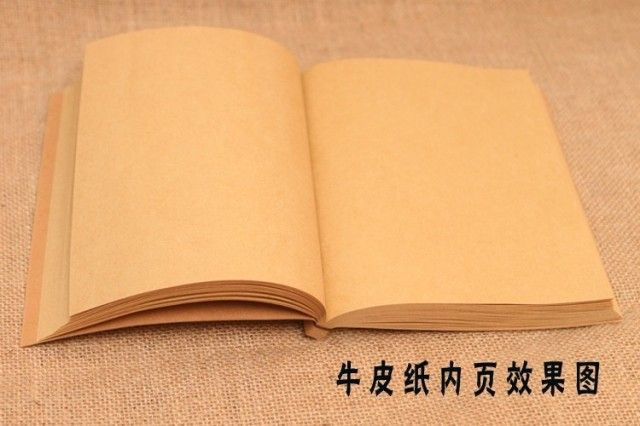 2015 Chinese style retro antique handmade wire-bound sketch book sketch stationery notebook diary