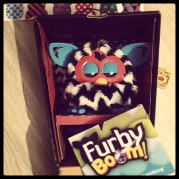 Furby Boom ZigZag opended package @ nestuj.cz #furbyboom #furby