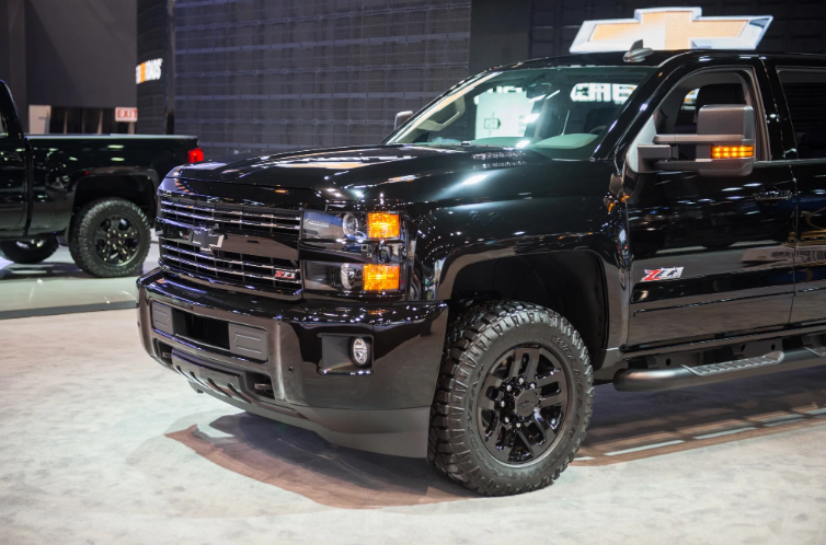 2020 Chevy Silverado 2500hd Z71 Midnight Edition Chevy Silverado