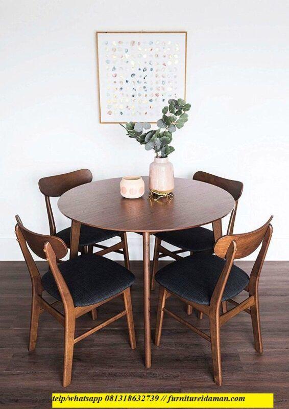 41++ Mid century modern round dining table set Best Seller