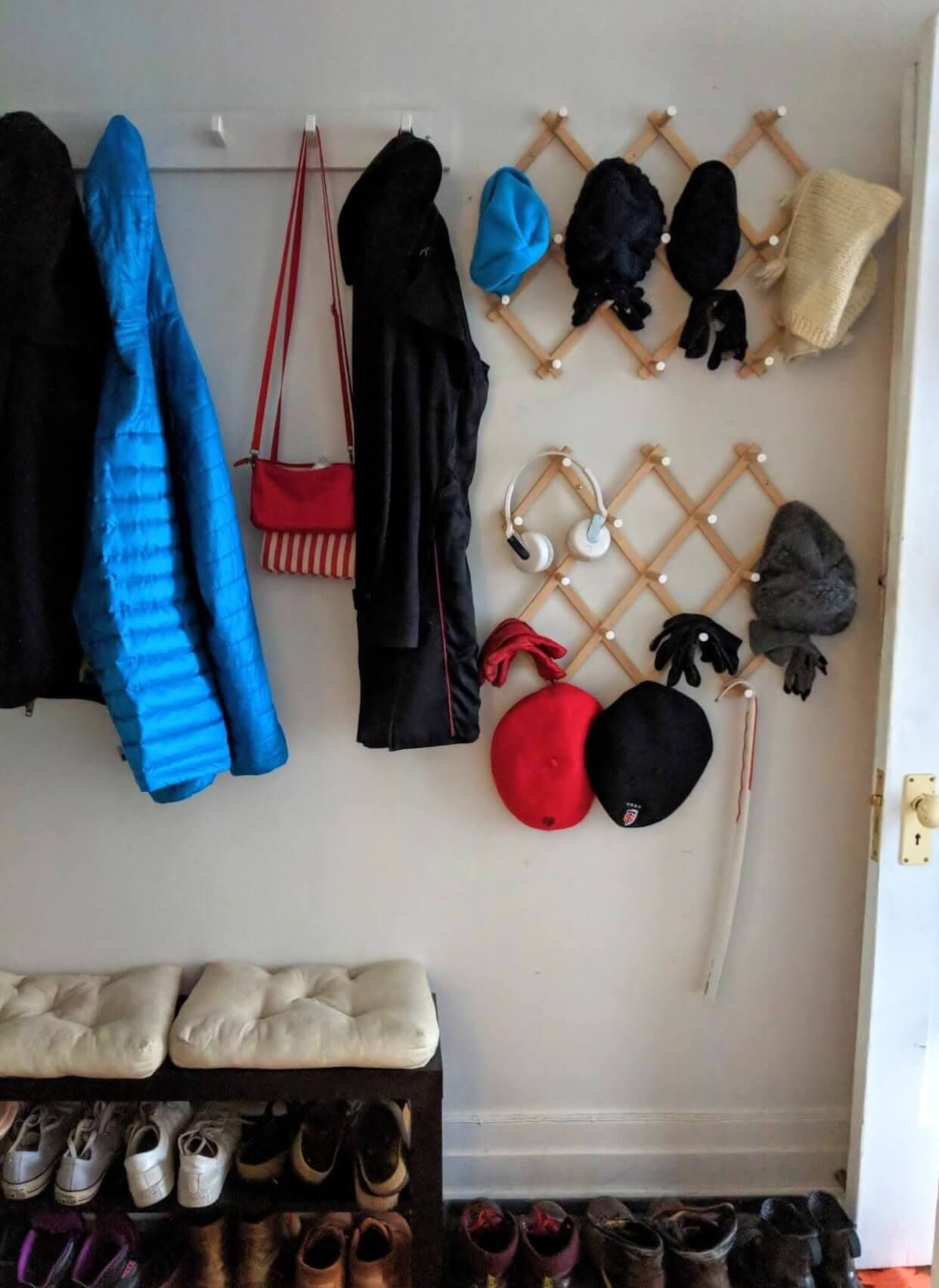 Quick Easy Hat And Coat Rack For The Mudroom Ikea Hackers Coat Rack Ikea Hat Storage Coat Rack