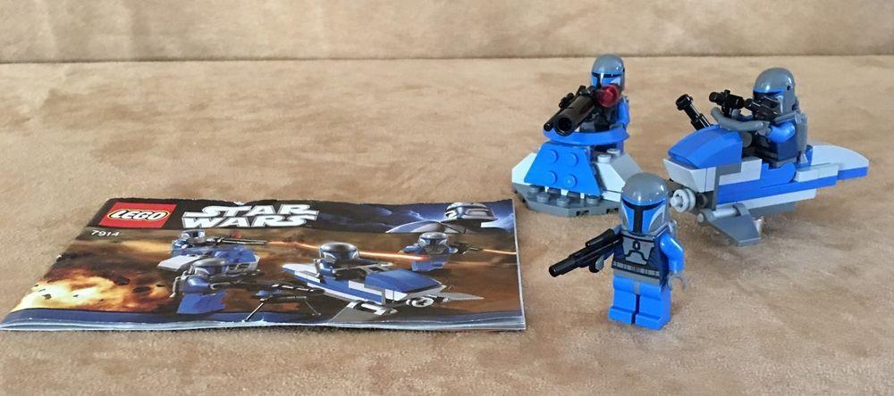 7914 Lego Complete Star Wars Mandalorian Battle Pack Minifig