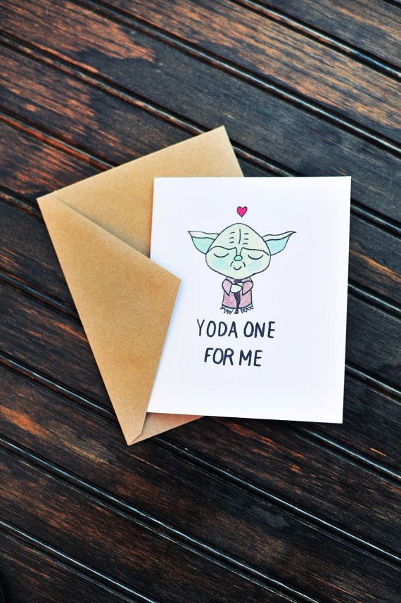 Love Star Wars? Want to give the wisdom of Yoda and the love of puns ...