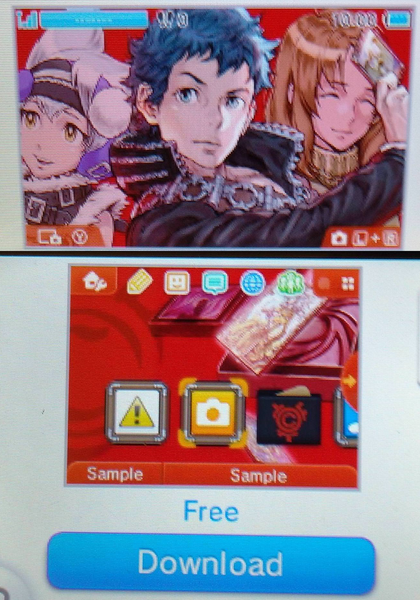 Culdcept Revolt free 3DS theme available in North America   Looking for a new theme to spruce up your 3DS? How about a free Culdcept Revolt theme? It's on the 3DS eShop right now so go on and grab it while you can!  from GoNintendo Video Games