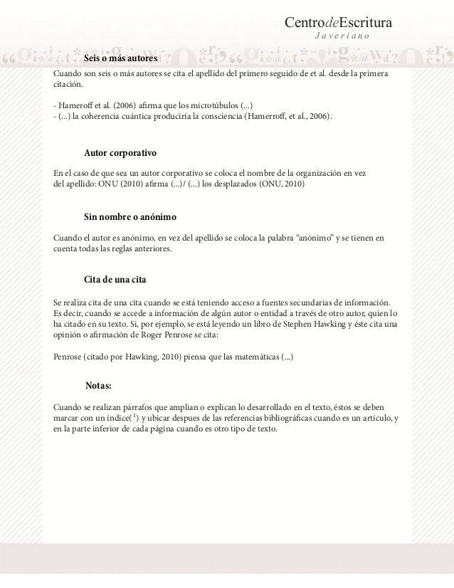 Normas apa-2013 Educación Pinterest Julian castro - shidduch resume