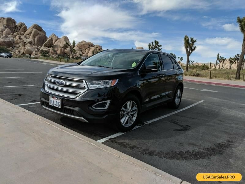Car For Sale 2015 Ford Edge Sel With Images