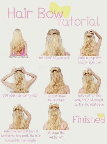 Hair Bow How To!
