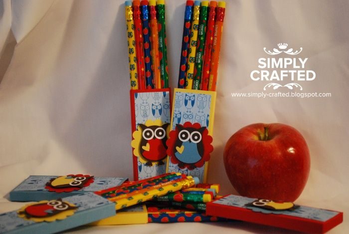 Back to School pencil pouchs
