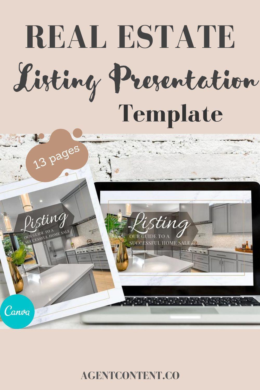 Real Estate Listing Presentation Canva Template Property Presentation Canva Template Home Buyer Presentation Real Estate Home Brochure Listing Presentation Real Estate Listing Presentation Real Estate Marketing Plan