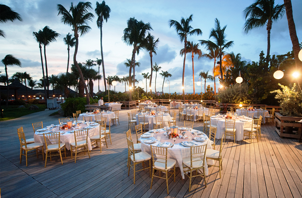 Our Beach Deck Offers Casual Yet Exceptional A Wedding Experience With Spectacular Views