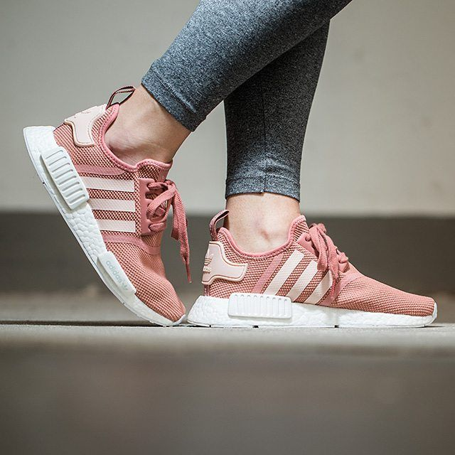 4a9d0877e86ad SOLD OUT   Women s Adidas NMD R1  Salmon Pink  Size  6