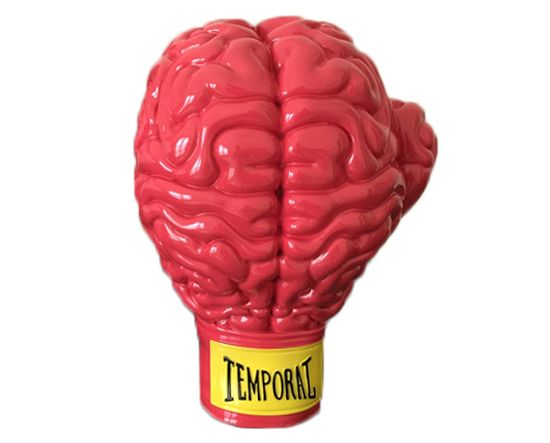 All Vinyls Red Boxing Brain With Images Vinyl Toys Red Vinyl