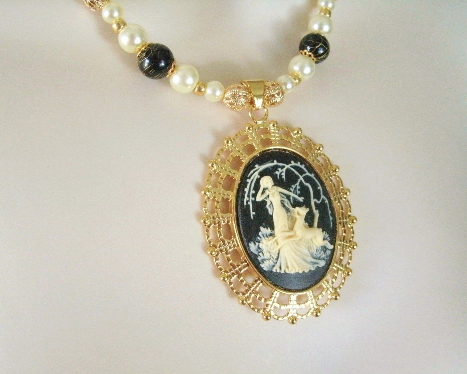 Goddess Diana Necklace Wiccan Pagan Wicca Witchcraft Witch Magic